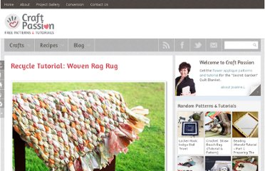 http://www.craftpassion.com/2010/03/recycle-tutorial-woven-rag-rug.html