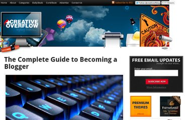 http://creativeoverflow.net/the-complete-guide-to-becoming-a-blogger/