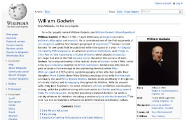http://en.wikipedia.org/wiki/William_Godwin