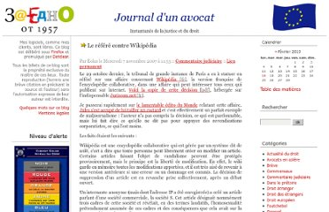 http://www.maitre-eolas.fr/post/2007/11/07/781-le-refere-contre-wikipedia
