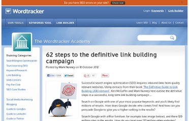 http://www.wordtracker.com/academy/62-steps-to-the-definitive-link-building-campaign
