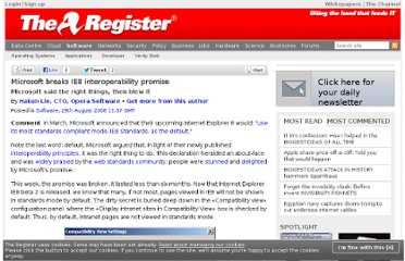 http://www.theregister.co.uk/2008/08/29/hakon_lie_ie8_interoperability/