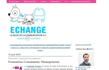 http://www.levidepoches.fr/echange/2010/06/-formation-community-management.html