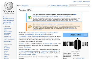 http://fr.wikipedia.org/wiki/Doctor_Who