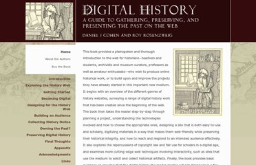http://chnm.gmu.edu/digitalhistory/