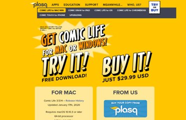 http://plasq.com/products/comiclife/win