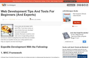 http://www.1stwebdesigner.com/design/web-development-tips-tools-for-beginners-experts/