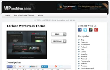 http://wparchive.com/13floor-wordpress-theme/