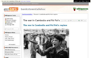 http://bankstowntafehsc.swsi.wikispaces.net/The+war+in+Cambodia+and+Pol+Pot's+regime