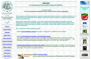 http://www.cais-soas.com/CAIS/Archaeology/archaeological_excavation_report.htm