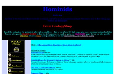 http://www.geologyshop.co.uk/hominids.htm