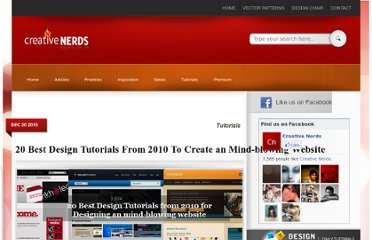 http://creativenerds.co.uk/tutorials/20-best-design-tutorials-from-2010-to-create-an-mind-blowing-website/