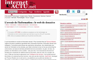 http://www.internetactu.net/2008/12/04/lavenir-de-linformation-le-web-de-donnees/