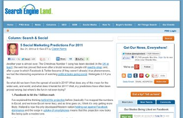 http://searchengineland.com/5-social-marketing-predictions-for-2011-58541