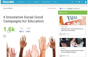 http://mashable.com/2010/12/21/social-good-education/