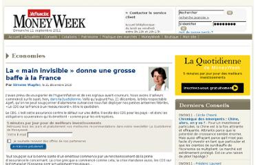 http://www.moneyweek.fr/20101244435/conseils/economies/cds-dette-france-inflation/