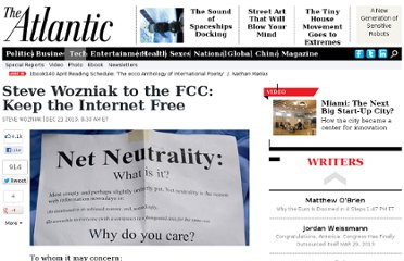 http://www.theatlantic.com/technology/archive/2010/12/steve-wozniak-to-the-fcc-keep-the-internet-free/68294/