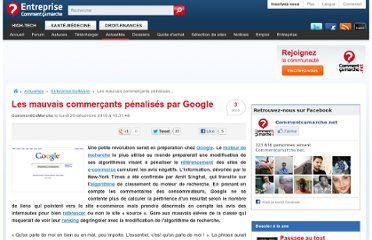 http://www.commentcamarche.net/news/5853740-les-mauvais-commercants-penalises-par-google