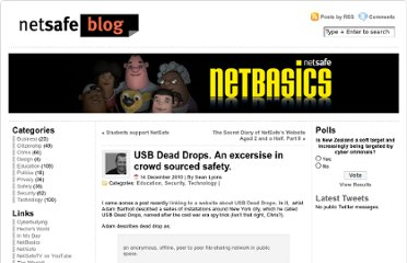 http://blog.netsafe.org.nz/2010/12/14/usb-dead-drops-an-excersise-in-crowd-sourced-safety/