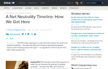http://gigaom.com/2010/12/21/a-net-neutrality-timeline-how-we-got-here/