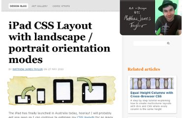 http://matthewjamestaylor.com/blog/ipad-layout-with-landscape-portrait-modes