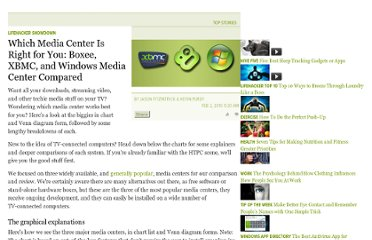 http://lifehacker.com/5462275/which-media-center-is-right-for-you-boxee-xbmc-and-windows-media-center-compared