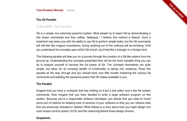 http://tom.preston-werner.com/2009/05/19/the-git-parable.html