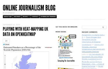http://onlinejournalismblog.com/2010/09/10/playing-with-heat-mapping-uk-data-on-openheatmap/