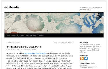 http://mfeldstein.com/the-evolving-lms-market-part-i/