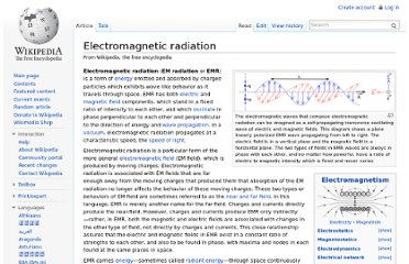 http://en.wikipedia.org/wiki/Electromagnetic_radiation