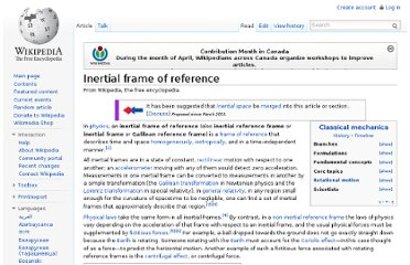 http://en.wikipedia.org/wiki/Inertial_frame_of_reference