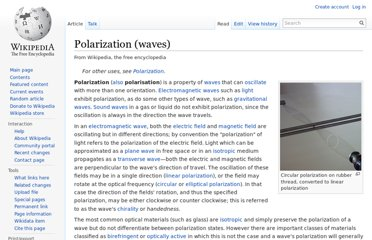 http://en.wikipedia.org/wiki/Polarization_(waves)