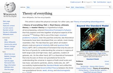 http://en.wikipedia.org/wiki/Theory_of_everything