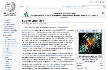 http://en.wikipedia.org/wiki/Supersymmetry