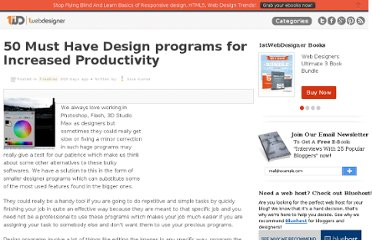 http://www.1stwebdesigner.com/freebies/design-programs-increased-productivity/