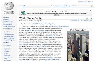 http://en.wikipedia.org/wiki/World_Trade_Center