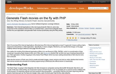 http://www.ibm.com/developerworks/library/os-php-flash/index.html?ca=drs-