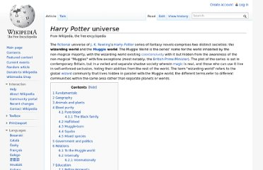http://en.wikipedia.org/wiki/Harry_Potter_universe