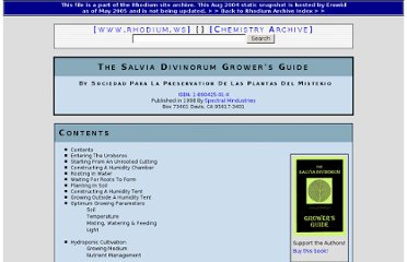 http://www.erowid.org/archive/rhodium/chemistry/salvia.divinorum.growers.guide.html