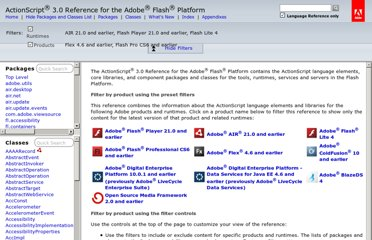 http://help.adobe.com/en_US/FlashPlatform/reference/actionscript/3/index.html
