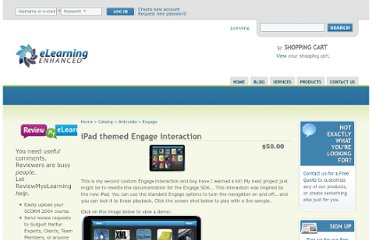 http://elearningenhanced.com/products/ipad-themed-engage-interaction