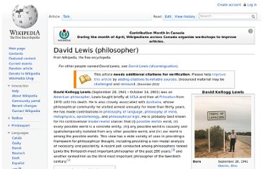 http://en.wikipedia.org/wiki/David_Lewis_(philosopher)