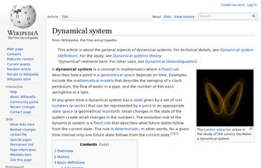 http://en.wikipedia.org/wiki/Dynamical_system