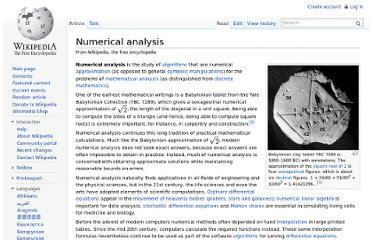 http://en.wikipedia.org/wiki/Numerical_analysis