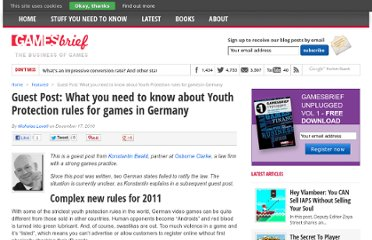 http://www.gamesbrief.com/2010/12/guest-post-what-you-need-to-know-about-youth-protection-rules-for-games-in-germany/