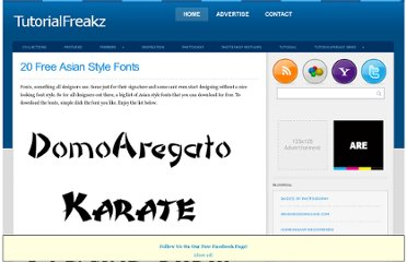 http://tutorialfreakz.com/20-free-asian-style-fonts/