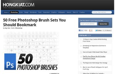 http://www.hongkiat.com/blog/50-free-photoshop-brushes-you-should-bookmark/