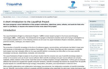 http://project.liquidpub.org/how-to-participate/a-short-introduction-to-the-liquid-publications-project
