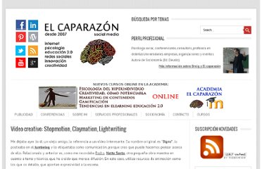 http://www.dreig.eu/caparazon/2009/05/03/video-creativo-stopmotion-claymation-lightwriting/