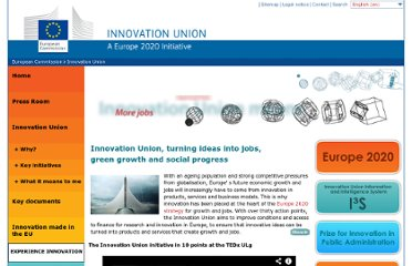 http://ec.europa.eu/research/innovation-union/index_en.cfm